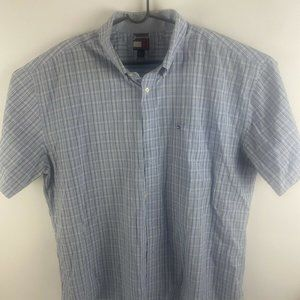 Tommy Hilfiger Button-Down Short Sleeve Shirt